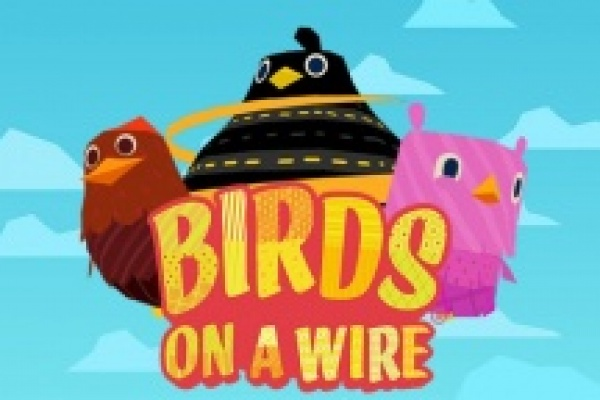Birds on a wire logo