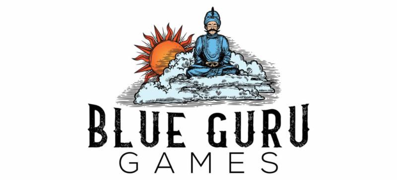 Blue guru game loga