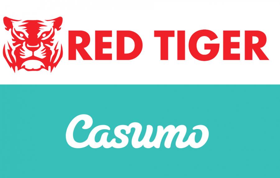 Red Tiger & Casumo logo