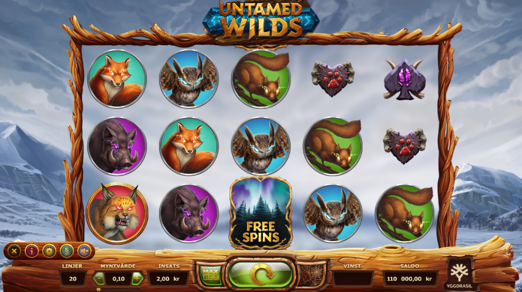 Untamed wilds spelvy