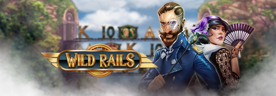 huvud banner med Wild rails tema