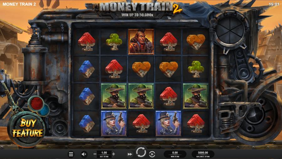 Money train 2 Spelvy